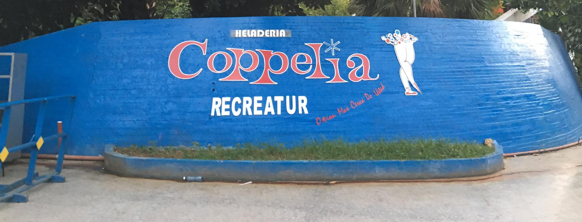 Coppelia is everyone's favorite in Cuba.